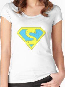 Spongebob Superpants Women's Fitted Scoop T-Shirt