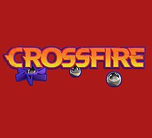 crossfire board game logo by lofton