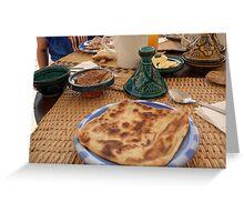 Moroccan pancake Greeting Card