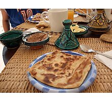 Moroccan pancake Photographic Print