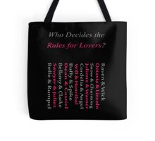 Starcrossed Lovers 2 Tote Bag