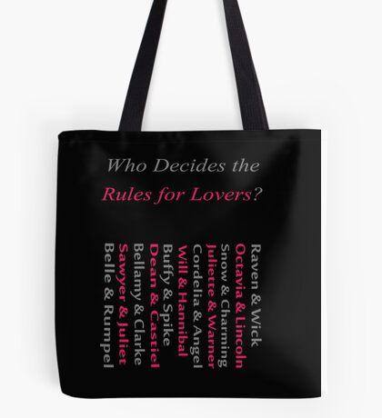 Starcrossed Lovers 2 Tote Bag