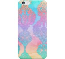 The Ups and Downs of Rainbow Doodles iPhone Case/Skin