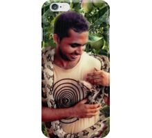 TEMPTATION-PYTHON-MAN- AND THE FORBIDDEN FRUIT..PILLOW-JOURNAL-TOTE BAG-ECT.. iPhone Case/Skin