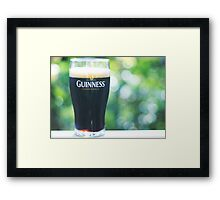 Have a glass Framed Print