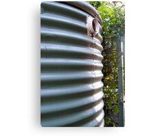 rainwater tank Canvas Print