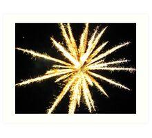 Fireworks (1) Art Print