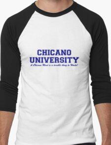 Chicano University Men's Baseball ¾ T-Shirt