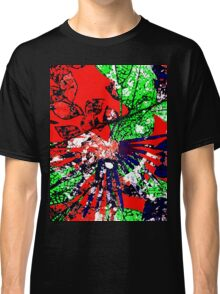 Abstract Multicolor Background Classic T-Shirt