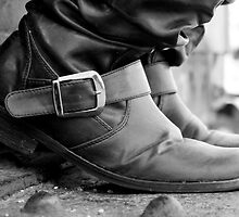 These Boots Were Made For..... by Tina Cacho