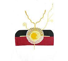 Australia's Indigenous Flag Expanding Photographic Print