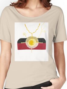 Australia's Indigenous Flag Expanding Women's Relaxed Fit T-Shirt