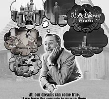 Walt Disney's Dreams by Tomreagan