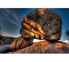 AlienHead Rock Photographic Print