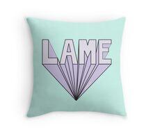 Lame Pop Up (Tumblr-Like Design) Throw Pillow