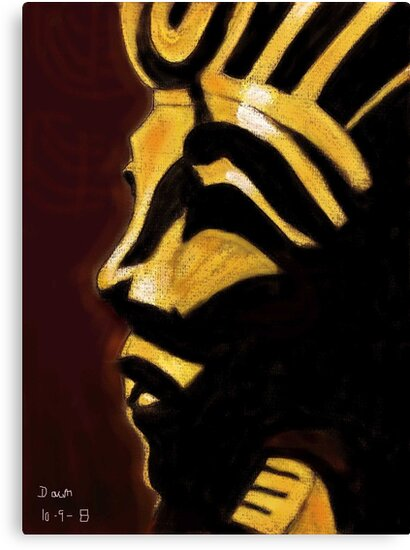 King Tut by Dawn B Davies-McIninch