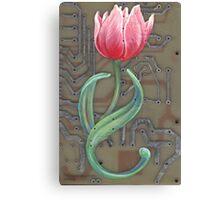 tech tulip by thomas jacobson 2008 Canvas Print