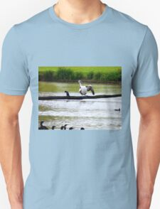 Watch carefully, you put one wing up and you shake it all about ---- Unisex T-Shirt