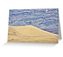Death Valley 2/5 Greeting Card