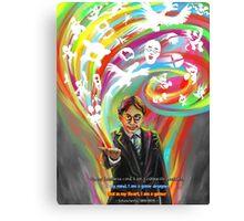 Satoru Iwata: Heart of a Gamer Canvas Print
