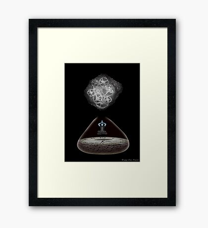 Moment Of Zen Framed Print