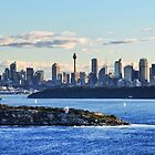 Sydney Skyline - North Head by Step9