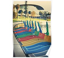 'Paddle Boats' Poster