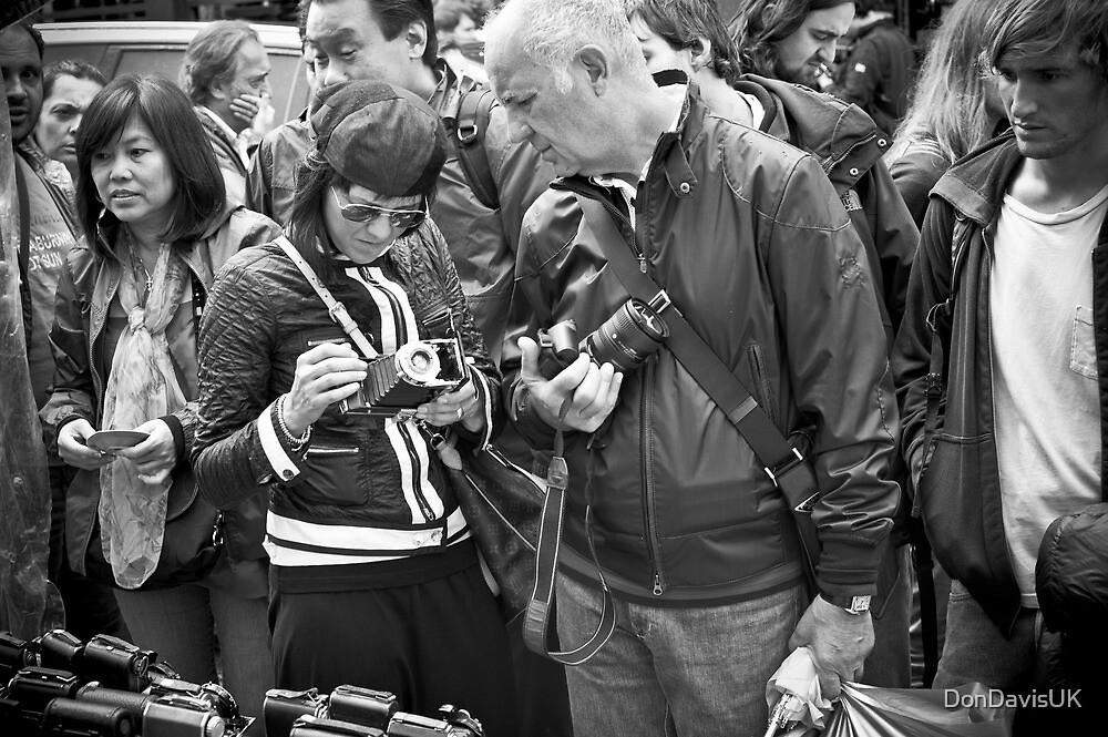 The Old Camera Stall: Portobello Road, London, UK. by DonDavisUK