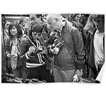 The Old Camera Stall: Portobello Road, London, UK. Poster