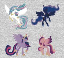Four Princesses Kids Tee