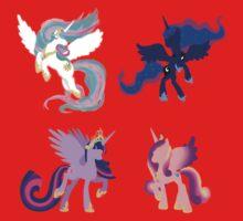 Four Princesses Baby Tee