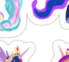 Four Princesses Sticker