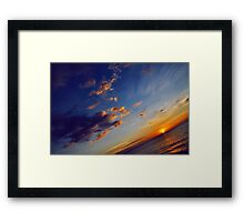 From End To End Framed Print