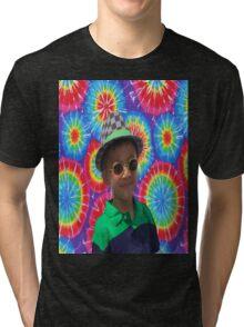 Peace Ayeeden Tie Dye Tri-blend T-Shirt
