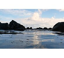 Tide pool serenity Photographic Print