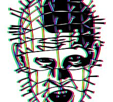 Psychedelic Pinhead  by Bryce Embery