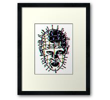 Psychedelic Pinhead  Framed Print