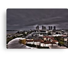 Queensland View from the 13th floor. Canvas Print