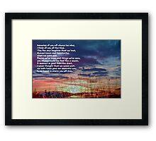 Memories of You ©  Framed Print