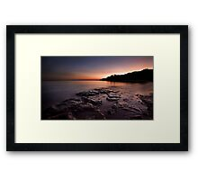 Fannie Bay rocks.  Framed Print