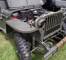 Military Vehicle Jeep    by Dawnsuzanne