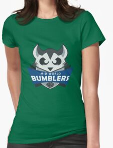 The Mid-World Bumblers  Womens Fitted T-Shirt