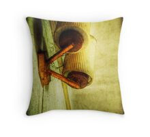 Motel Stop Throw Pillow