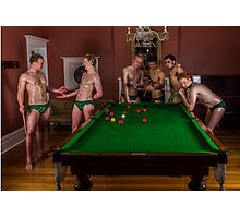 Pool for the pool boys Photographic Print