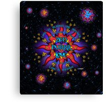 INFINITE LOVE GALACTIC OMMM BLOSSOM Canvas Print