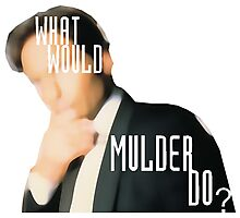 What Would Mulder Do? Photographic Print