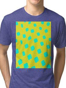 Abstract Polkadot Tri-blend T-Shirt