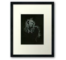 Master Doom Framed Print