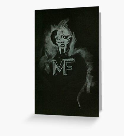 Master Doom Greeting Card