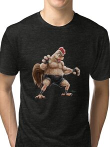 KFC Fighter Tri-blend T-Shirt